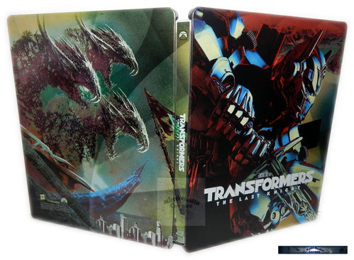 Transformers (5) - The Last Knight [Blu-Ray] limited Steelbook