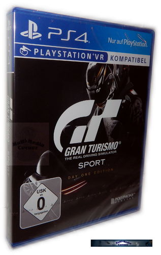 Gran Turismo Sport [Playstation 4] PS4 Day One Edition