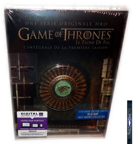 Game of Thrones - Die komplette Staffel/Season 1 [Blu-Ray] limited Steelbook