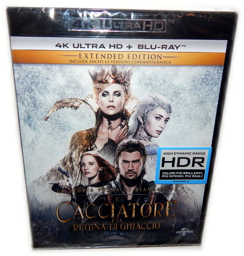 The Huntsman & the Ice Queen [4K UHD + Blu-Ray]
