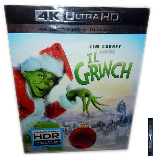Der Grinch [4K Ultra HD + Blu-Ray] Jim Carrey (Deutscher Ton)