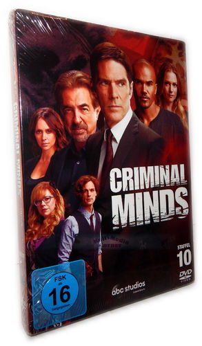 Criminal Minds - Die komplette Staffel/Season 10 [DVD]
