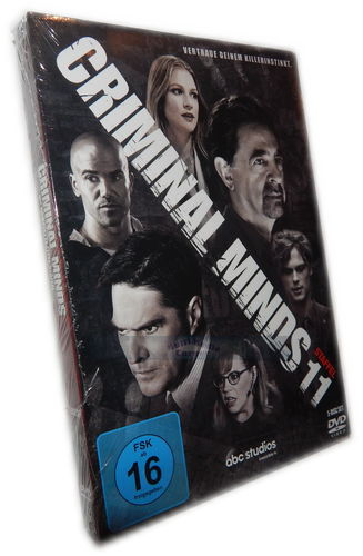 Criminal Minds - Die komplette Staffel/Season 11 [DVD]