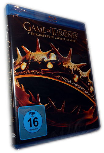 Game of Thrones - Die komplette Staffel/Season 2 [Blu-Ray]