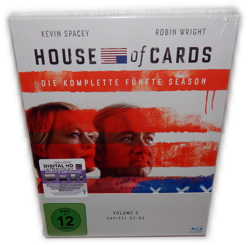 House of Cards - Die komplette Staffel/Season 5 [Blu-Ray] 4-Disc