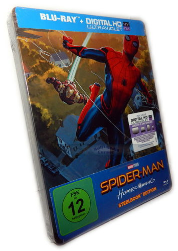 Spider-Man Homecoming - limited Steelbook Edition [Blu-Ray]