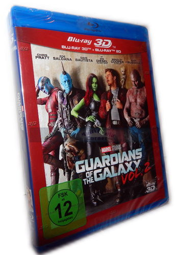 Guardians of the Galaxy - Vol. 2  3D (+2D) [Blu-ray] Marvel