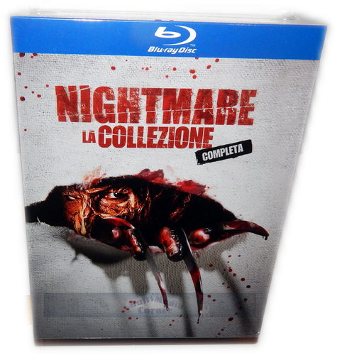 Nightmare on Elm Street 1,2,3,4,5,6,7 [Blu-Ray] Box, uncut (Deutscher Ton)