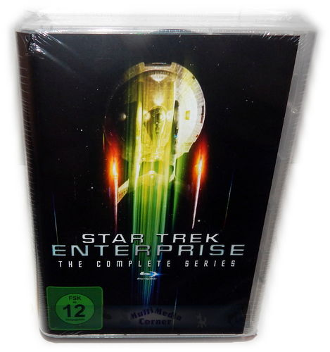 Star Trek Enterprise - The complete Series (Staffel/Season 1,2,3,4) [Blu-Ray]