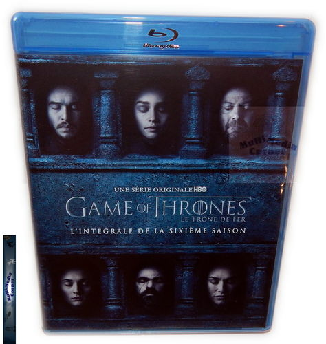 Game of Thrones - Die komplette Staffel/Season 6 [Blu-Ray] (Deutscher Ton)