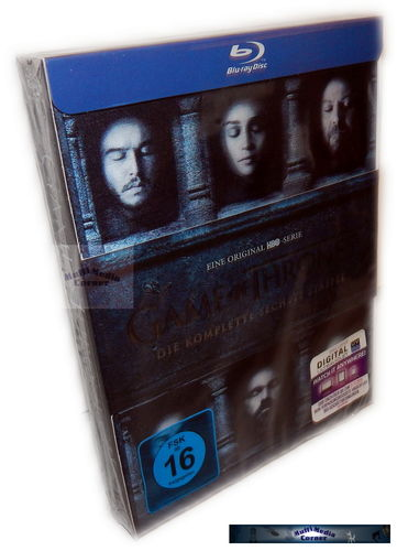 Game of Thrones - Die komplette Staffel/Season 6 [Blu-Ray] Lenticularcover