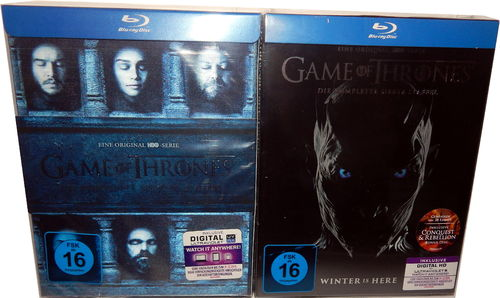 Game of Thrones - Die komplette Staffel/Season 6+7 [Blu-Ray]