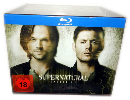 Supernatural Box-Set - Die komplette Staffel/Season 1-11 [Blu-Ray] 43-Disc