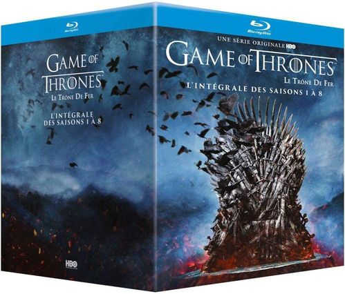 Game of Thrones - Die komplette Serie (Staffel/Season 1-8) [Blu-Ray] EU-Import (Deutscher Ton)