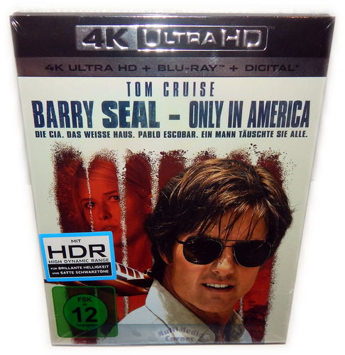 Barry Seal [4K UHD + Blu-Ray] 4K Ultra HD (Tom Cruise)