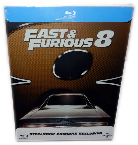Fast & (and) Furious 8 [Blu-Ray] limited Steelbook (Deutscher Ton)