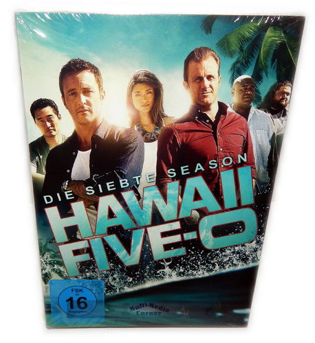 Hawaii Five O (5-0) - Die komplette Staffel/Season 7 [DVD]