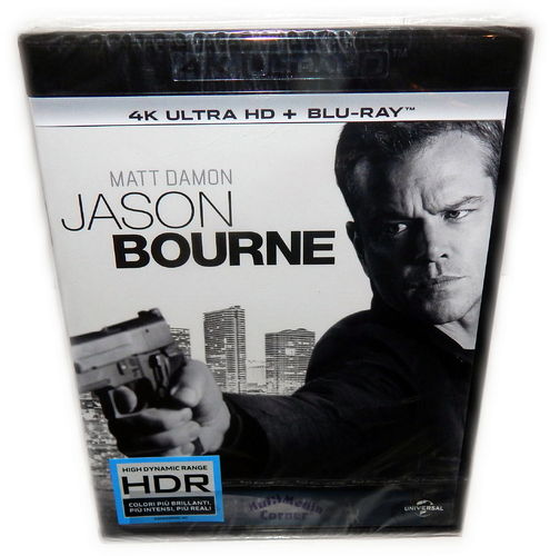 Jason Bourne [4K UHD + Blu-Ray] Matt Damon (Deutscher Ton)