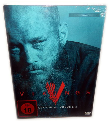Vikings - Staffel/Season 4 - Volume 2 (4.2) [DVD] 3-Disc