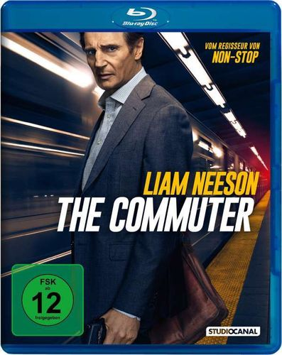 The Commuter [Blu-Ray] Liam Neeson, Sam Neill
