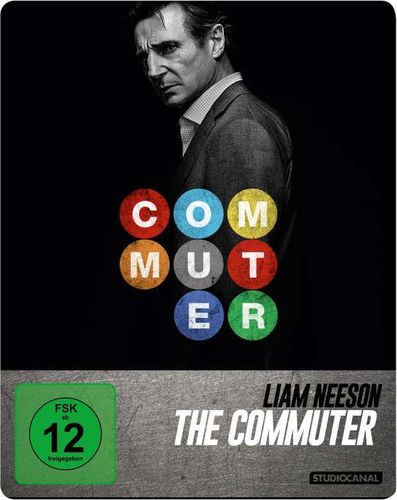 The Commuter [Blu-Ray] limited Steelbook (Liam Neeson)