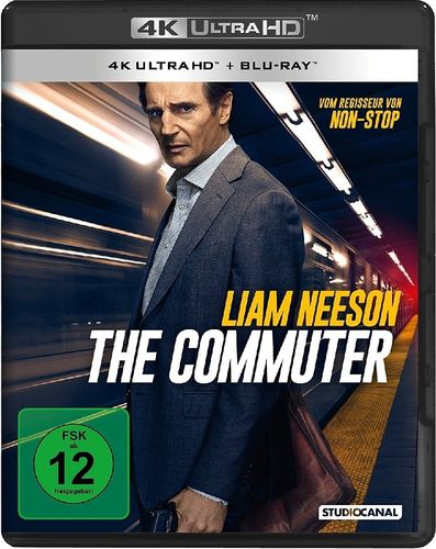 The Commuter [4K UHD+Blu-Ray] Liam Neeson