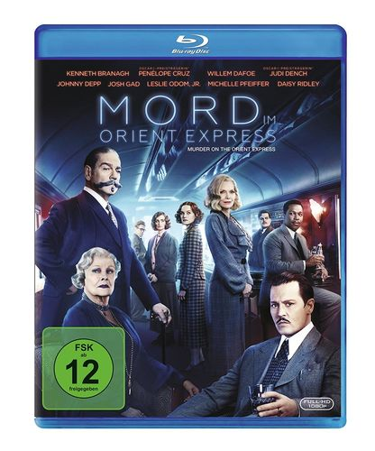 Mord im Orient Express [Blu-Ray] (2017) Johnny Depp