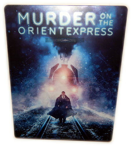 Mord im Orient Express [Blu-Ray] limited Steelbook (2017) Johnny Depp