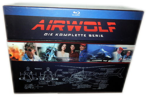 Airwolf - Die komplette Serie [Blu-Ray] (Staffel 1,2,3,4)