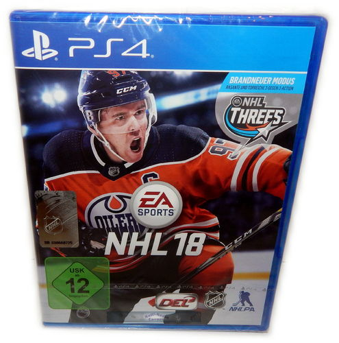 NHL 18 [Playstation 4] PS4 EA Sports