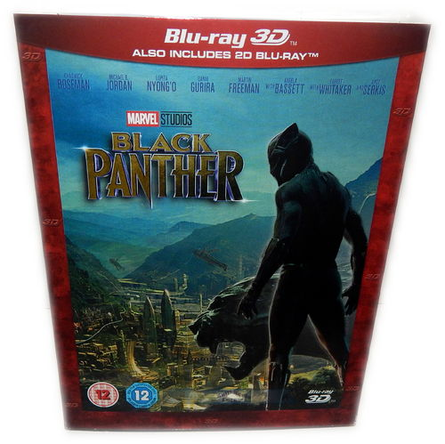 Black Panther 3D (+2D) [Blu-ray] Marvel Studios (Deutscher Ton)