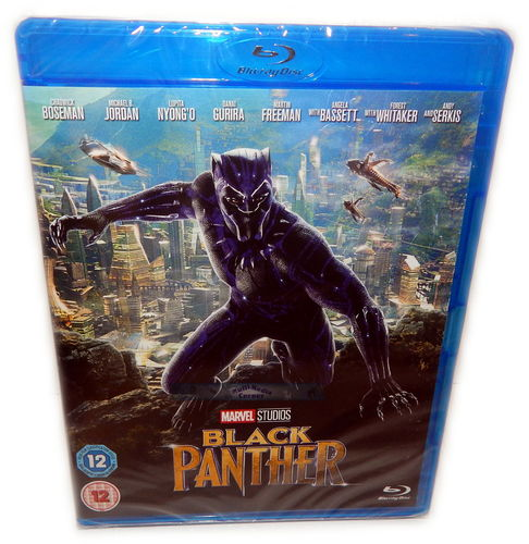 Black Panther [Blu-ray] Marvel Studios (Deutscher Ton)
