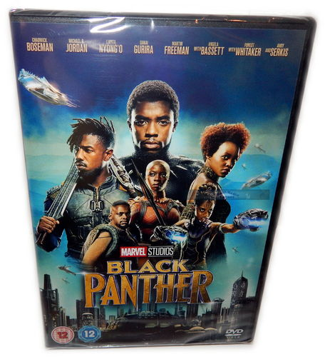 Black Panther [DVD] Marvel Studios (Deutscher Ton)