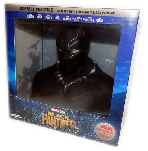 Black Panther [4K UHD+Blu-ray] MARVEL limited Edition inkl.Büste (Deutscher Ton)