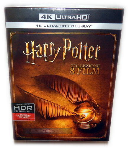 Harry Potter Komplettbox [4K UHD + Blu-Ray] Teil 1-7.2