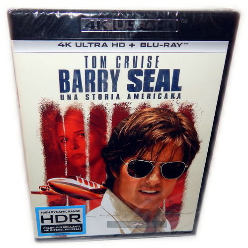 Barry Seal [4K UHD + Blu-Ray] 4K Ultra HD (Tom Cruise) (Deutscher Ton)