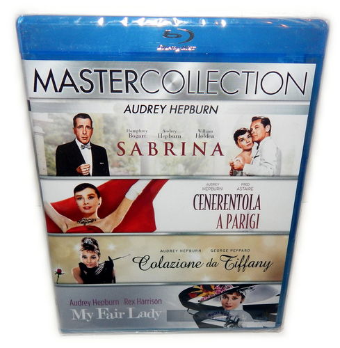 Audrey Hepburn Collection [Blu-Ray] 4-Disc Box-Set (Deutscher Ton)