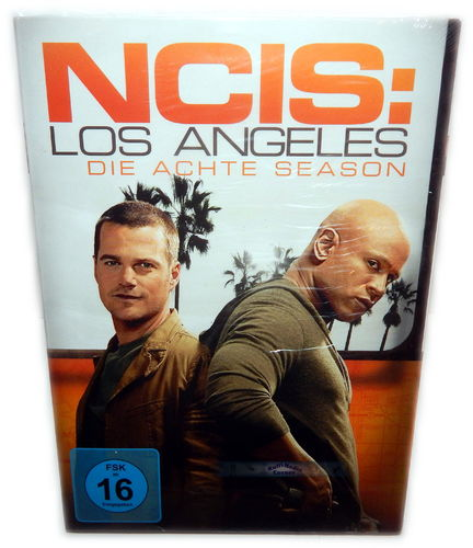NCIS Los Angeles (L.A.) - Die komplette Staffel/Season 8 [DVD]