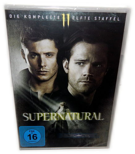 Supernatural - Die komplette Staffel/Season 11 [DVD] 6-Disc