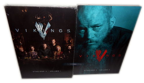 Vikings - Die komplette Staffel/Season 4 (Volume 1+2) [DVD] 6-Disc