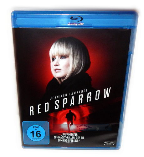Red Sparrow [Blu-Ray] Jennifer Lawrence, Jeremy Irons
