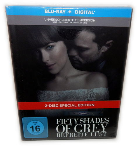 Fifty Shades of Grey 3 - Befreite Lust [Blu-Ray] 2-Disc limited Mediabook