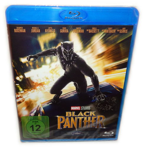 Black Panther [Blu-ray] Marvel Studios