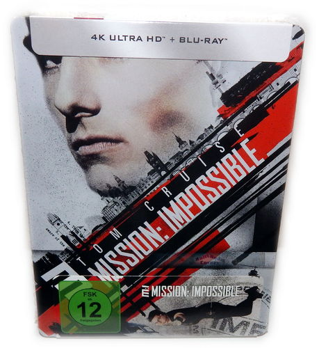 Mission Impossible [4K UHD+Blu-Ray] limited Steelbook
