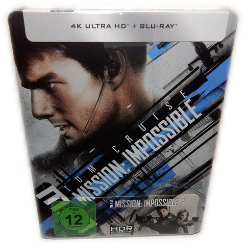 Mission Impossible III [4K UHD+Blu-Ray] (MI:3) 2-Disc limited Steelbook