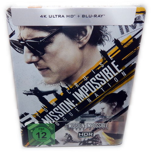 Mission Impossible Rogue Nation [4K UHD+Blu-Ray] (MI:5) limited Steelbook
