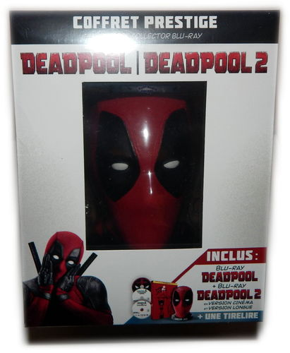 Deadpool 1+2 [Blu-ray] limited Steelbook Edition mit Büste (Deutscher Ton)