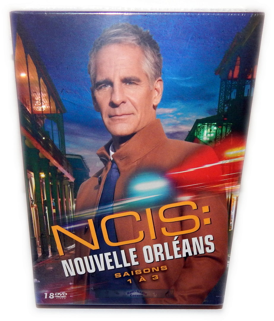 NCIS New Orleans Die komplette Staffel/Season 1-3 [DVD] 30-Disc Box-Set