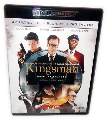 Kingsman - The Secret Service [4K Ultra HD+Blu-Ray] Colin Firth (Deutscher Ton)