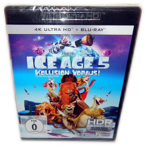 Ice Age 5 - Kollision voraus! [4K UHD+Blu-Ray] Blue Sky Animation